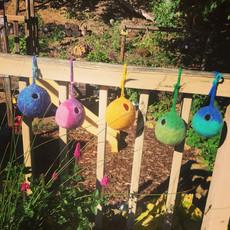 Felt Eco Birdhouse - Waxed