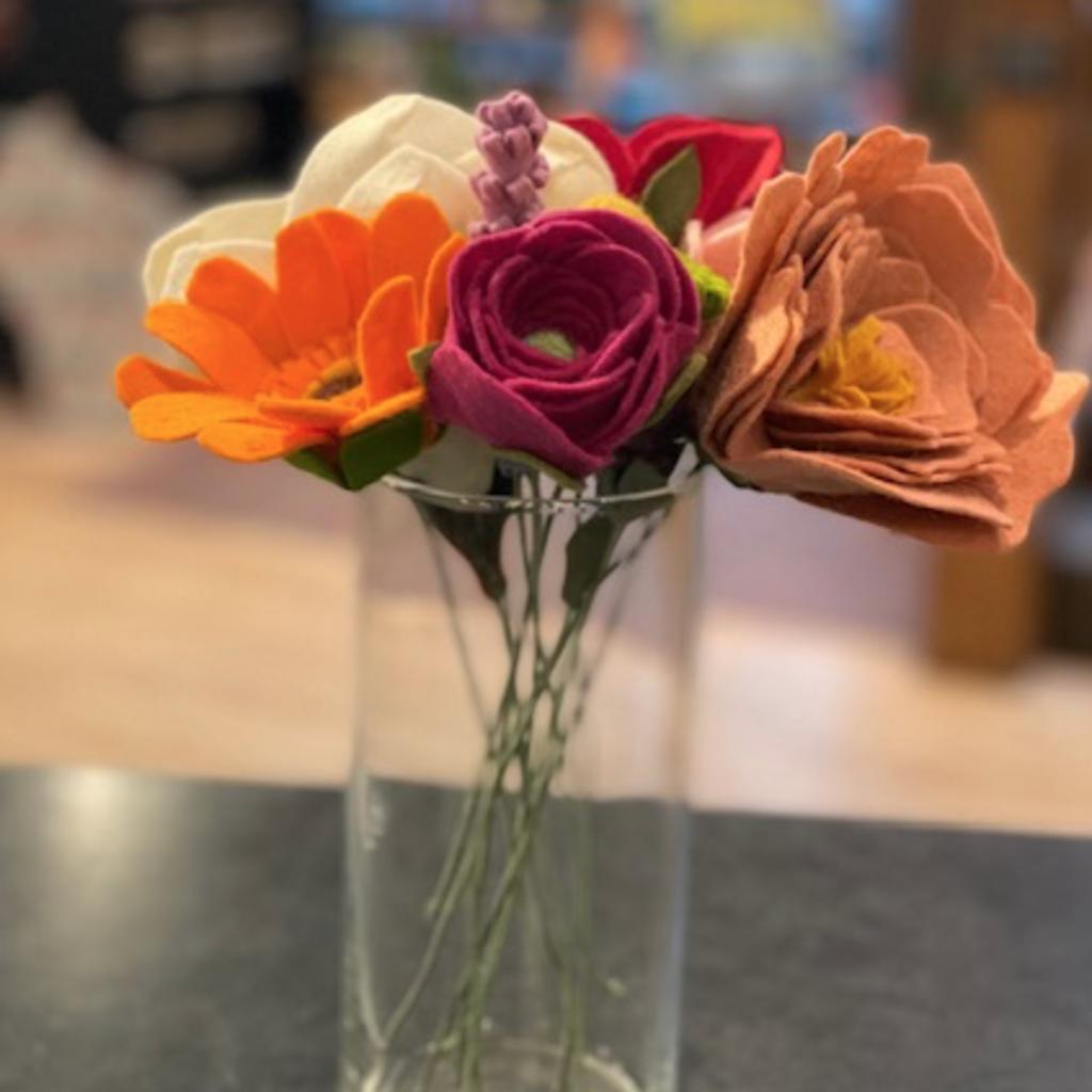Felt Flower- Medium