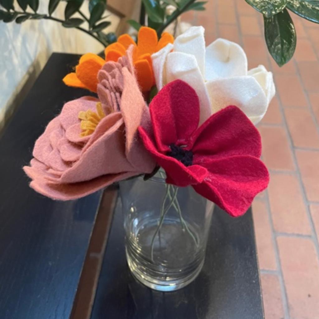 Felt Flower- Large