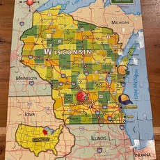 Magnetic Wisconsin Puzzle