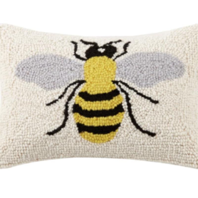 Volume One Single Bee Hook Pillow