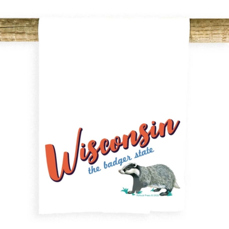 Towel - Wisconsin State Badger