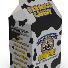 Baraboo Candy Company Spot Milk Carton - Mini Cow Pie 12 Count