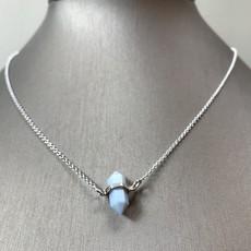 Helen Wang Jewelry Necklace - Blue Opal Crystal