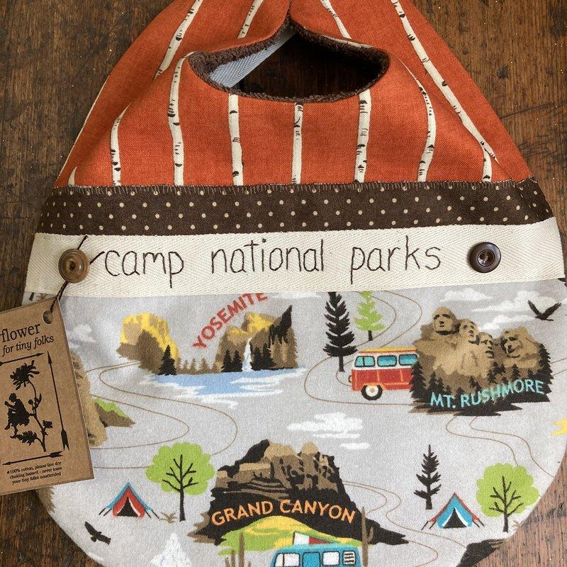 Deb Christenson Bib- Camp National Parks