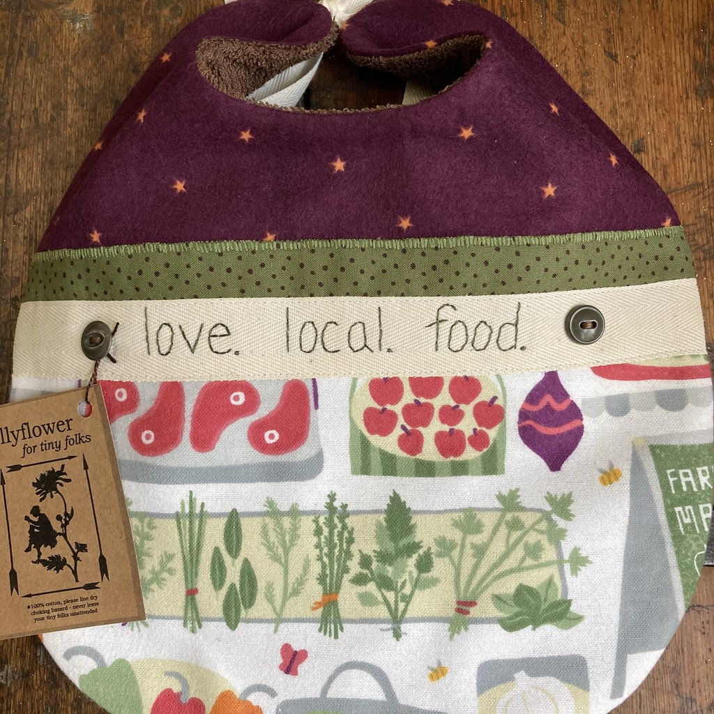 Deb Christenson Bib- Love Local Food