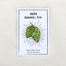 Enamel Pin - Hops Craft Beer