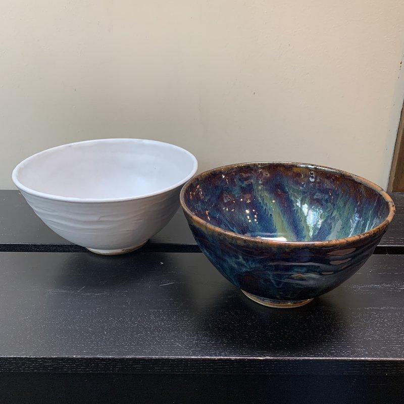 Dancing Cat Arts (Pottery) Ramen Bowl
