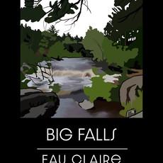 Big Falls  EC Print 8X10