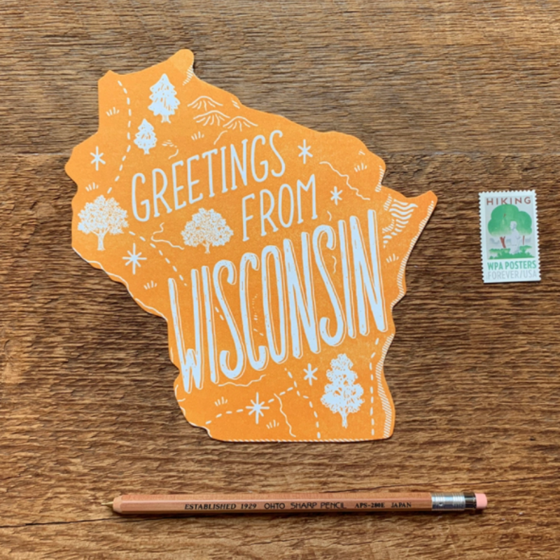 Postcard - Wisconsin State