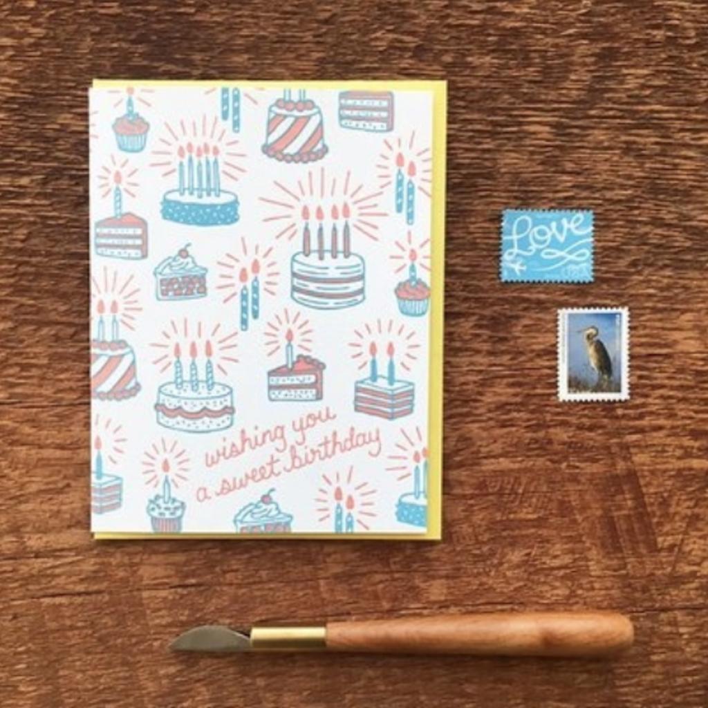 Greeting Card - Sweet Birthday