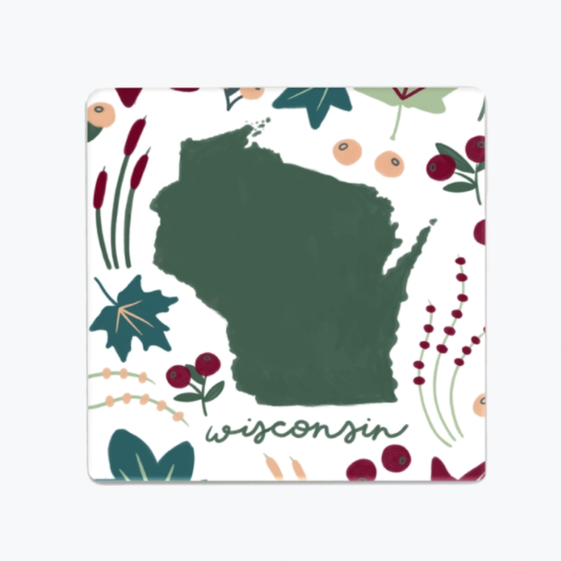 Tandem for Two Magnet - Wisconsin Flora & Fauna