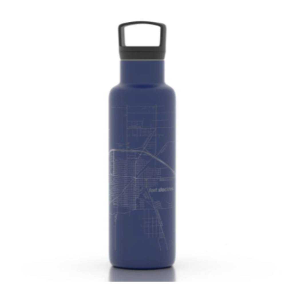 Volume One Insulated Water Bottle - Eau Claire Map