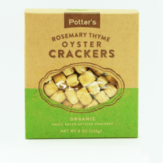 Potter's Crackers Potter's Oyster Crackers: Rosemary Thyme