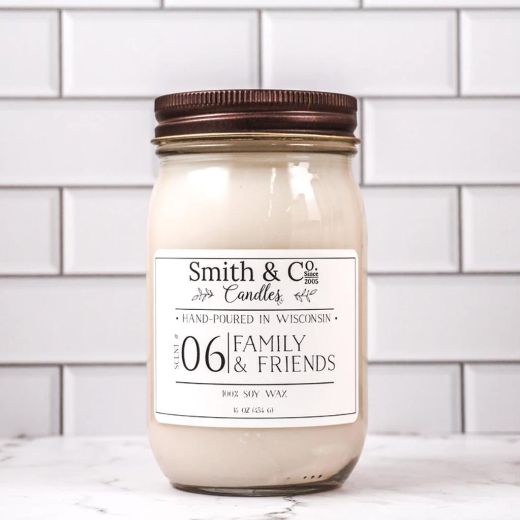 Large Mason Jar Candle - Smith & Co. Candles