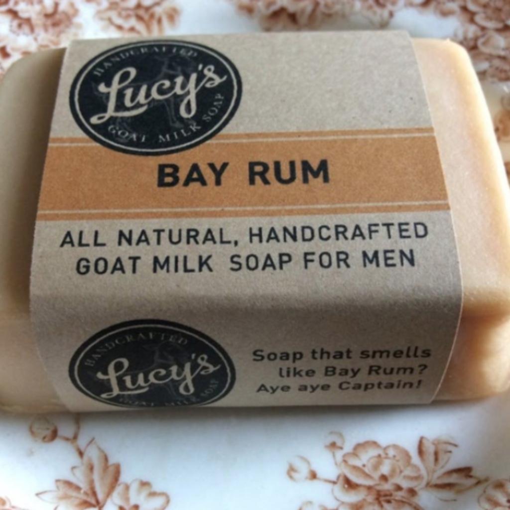 Lucy's Goat Milk Soap Lucy's Goat Milk Soap - Bay Rum