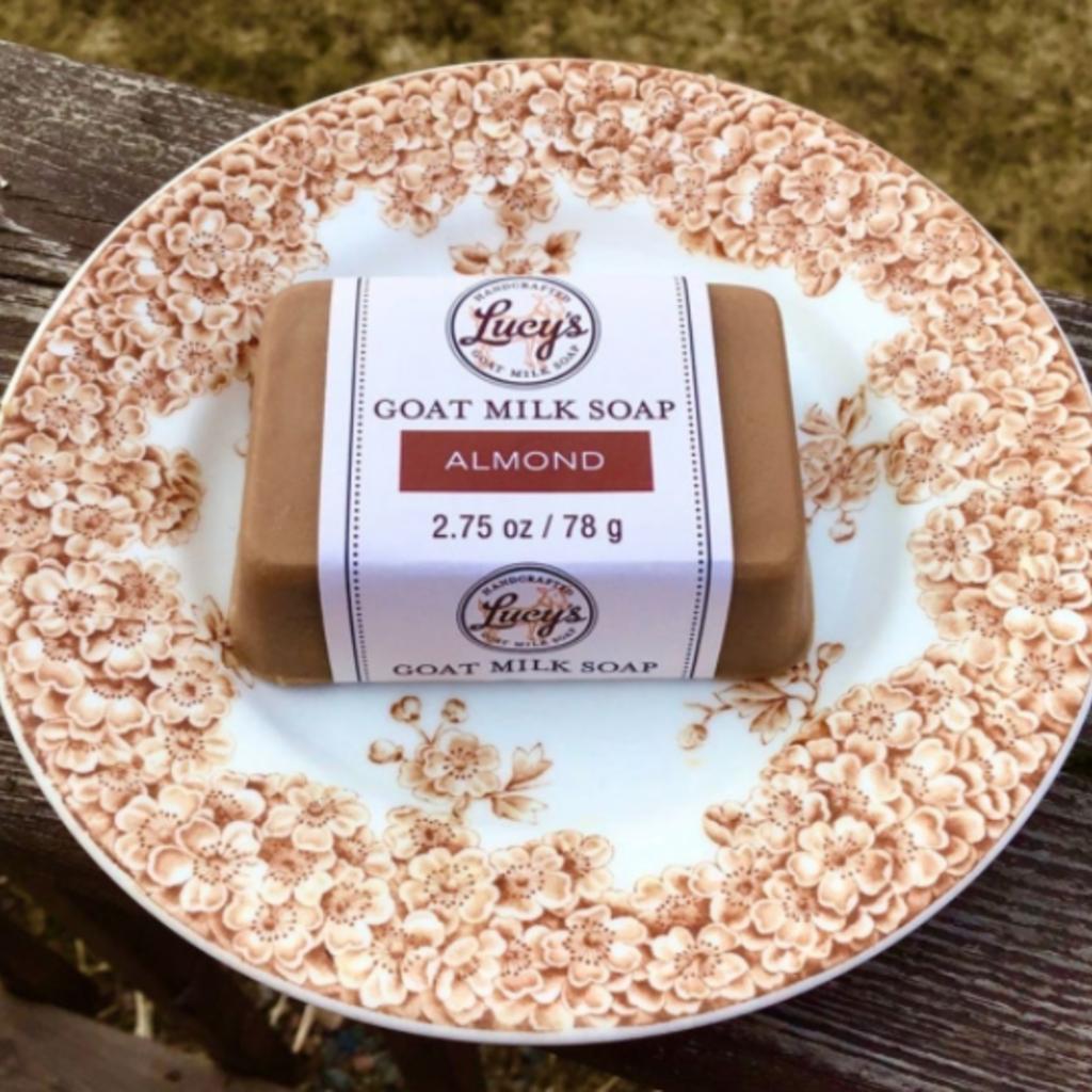 Lucy's Goat Milk Soap Lucy's Goat Milk Soap - Almond