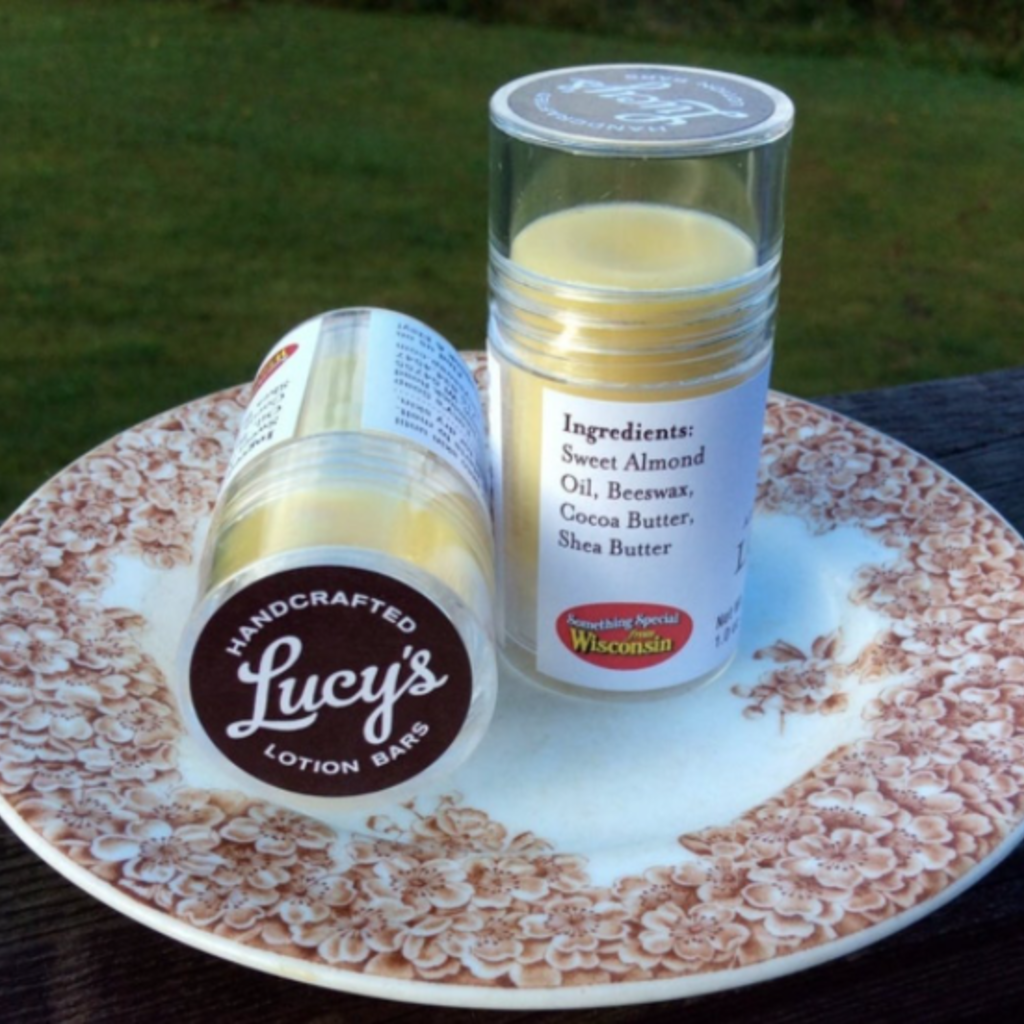 Lucy's Goat Milk Soap Lucy's Lotion Stick