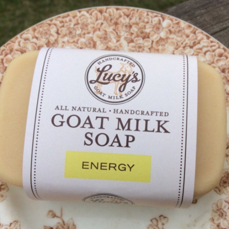 Lucy's Goat Milk Soap Lucy's Goat Milk Soap - Energy