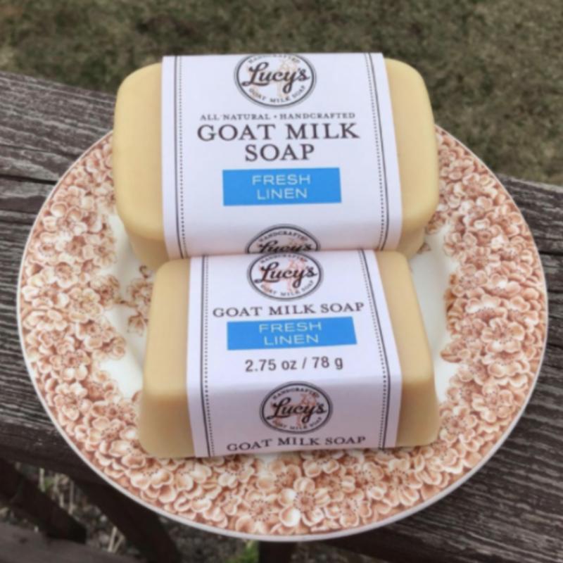 Lucy's Goat Milk Soap Lucy's Goat Milk Soap - Fresh Linen