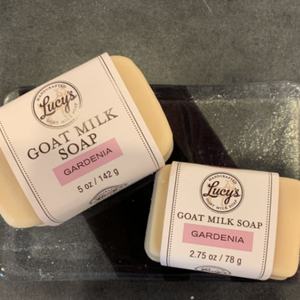 Lucy's Goat Milk Soap Lucy's Goat Milk Soap - Gardenia