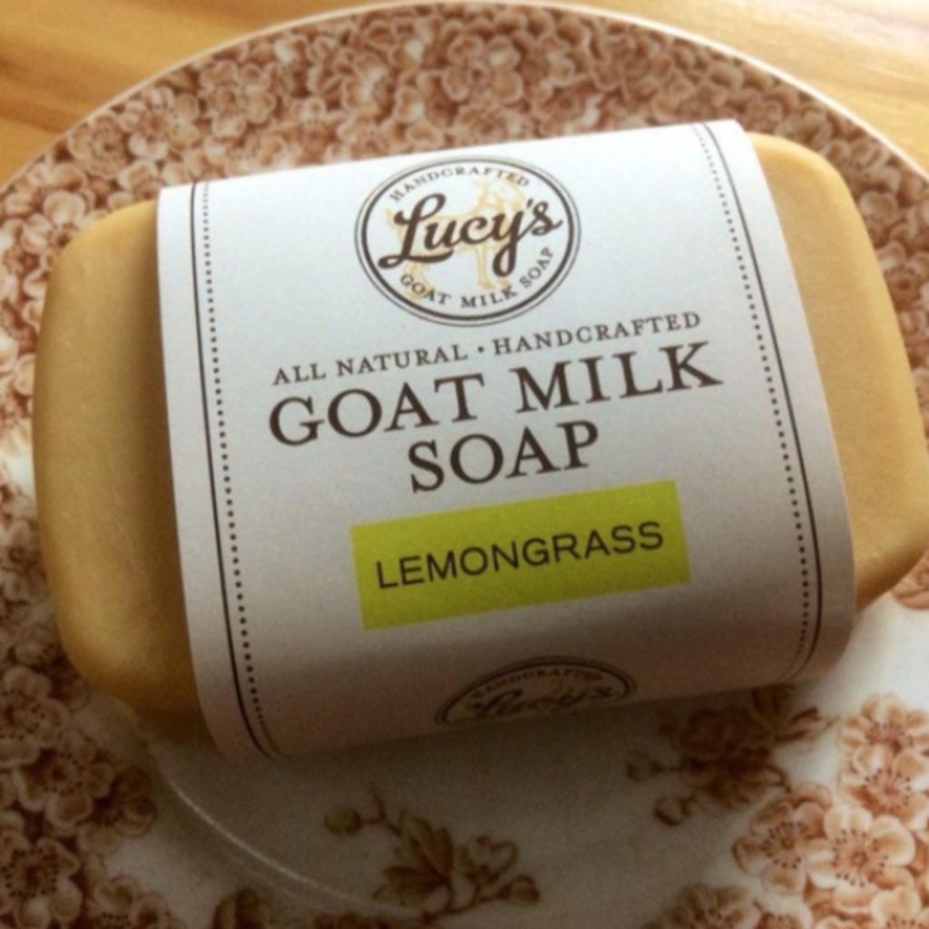 Lucy's Goat Milk Soap Lucy's Goat Milk Soap - Lemongrass
