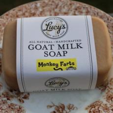 Lucy's Goat Milk Soap Lucy's Goat Milk Soap - Monkey Farts