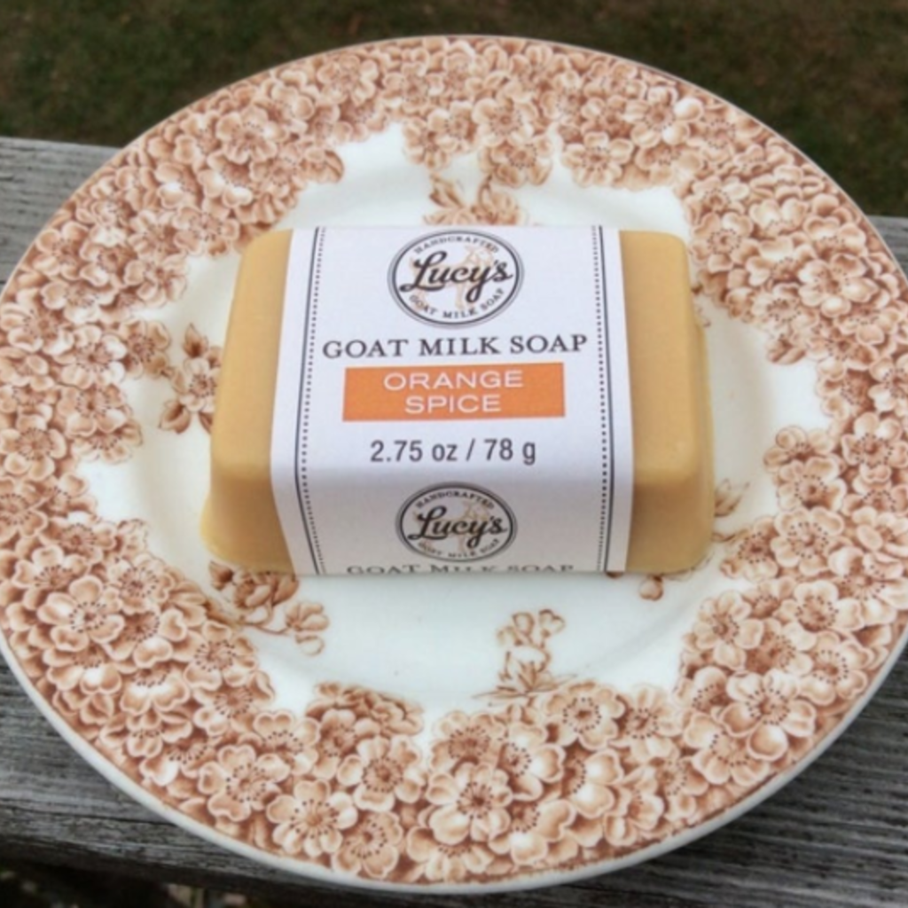 Lucy's Goat Milk Soap Lucy's Goat Milk Soap - Orange Spice