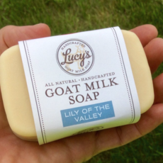 Lucy's Goat Milk Soap Lucy's Goat Milk Soap - Lily of the Valley