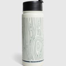 Volume One Woodgrain Stainless Steel Travel Bottle (18 oz.)