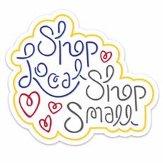 Shop Local & Small Vinyl Magnet