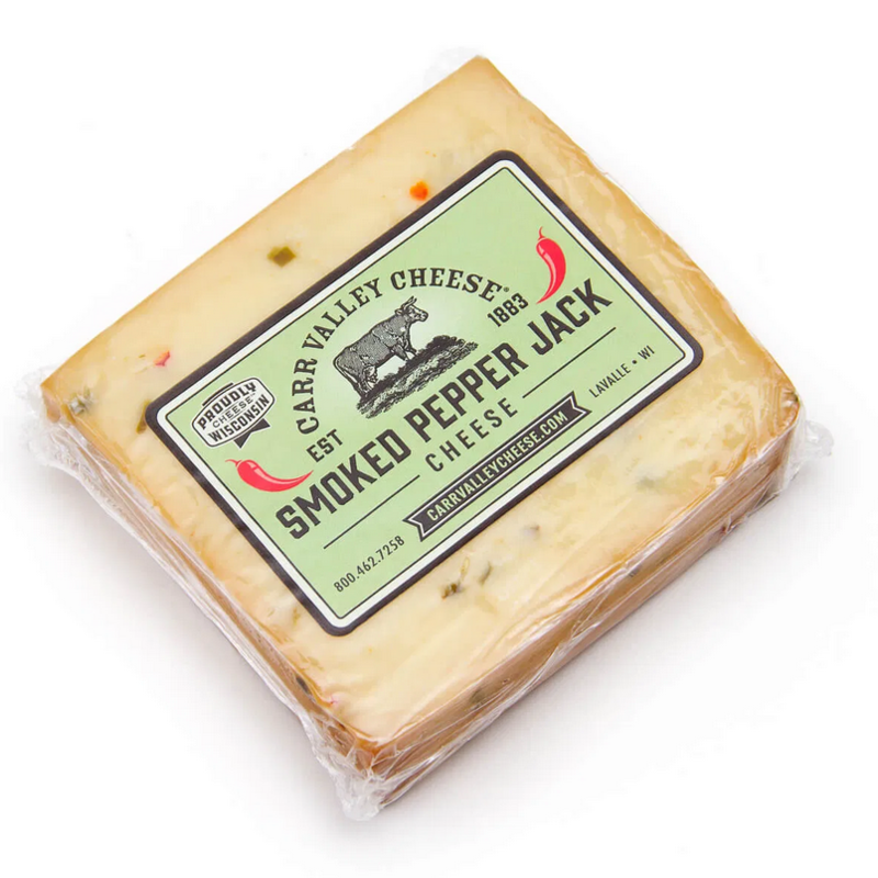 Carr Valley Cheese - Smoked Pepper Jack (7 oz.)