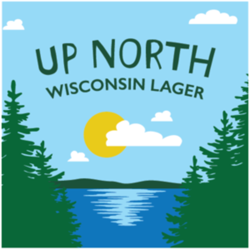 One Barrel Beer - Up North Wisconsin Lager (Can)