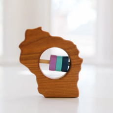 Bannor Toys - Wisconsin State Rattle