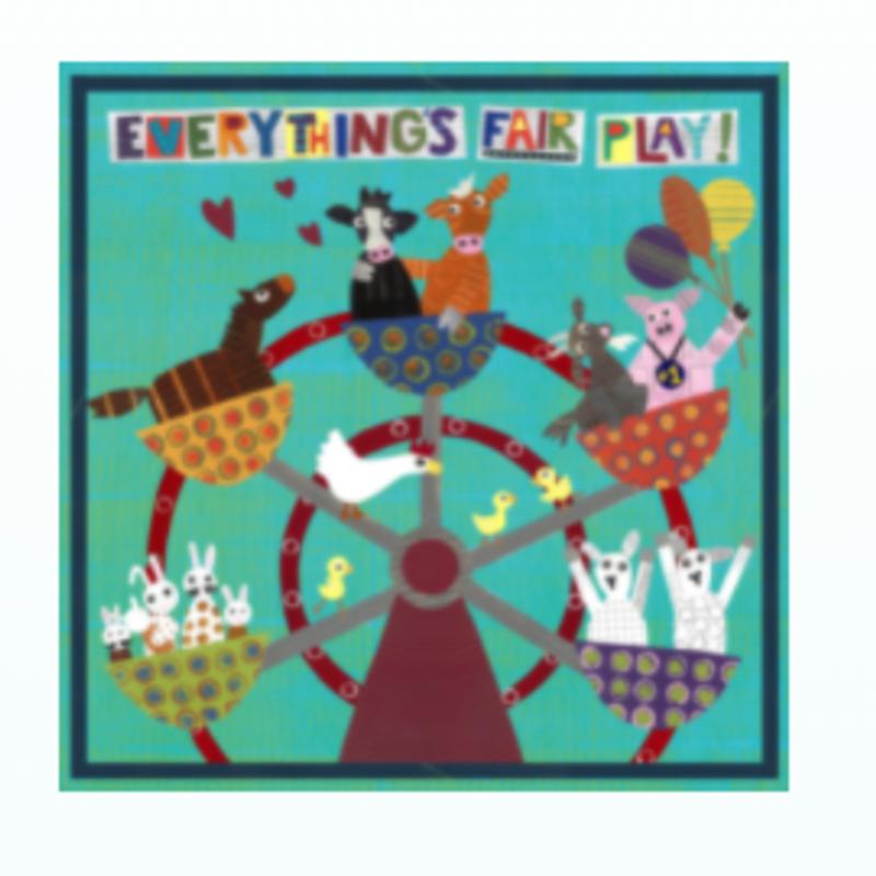 Jeanne Styczinski Everything's Fair Play Print (16x16)