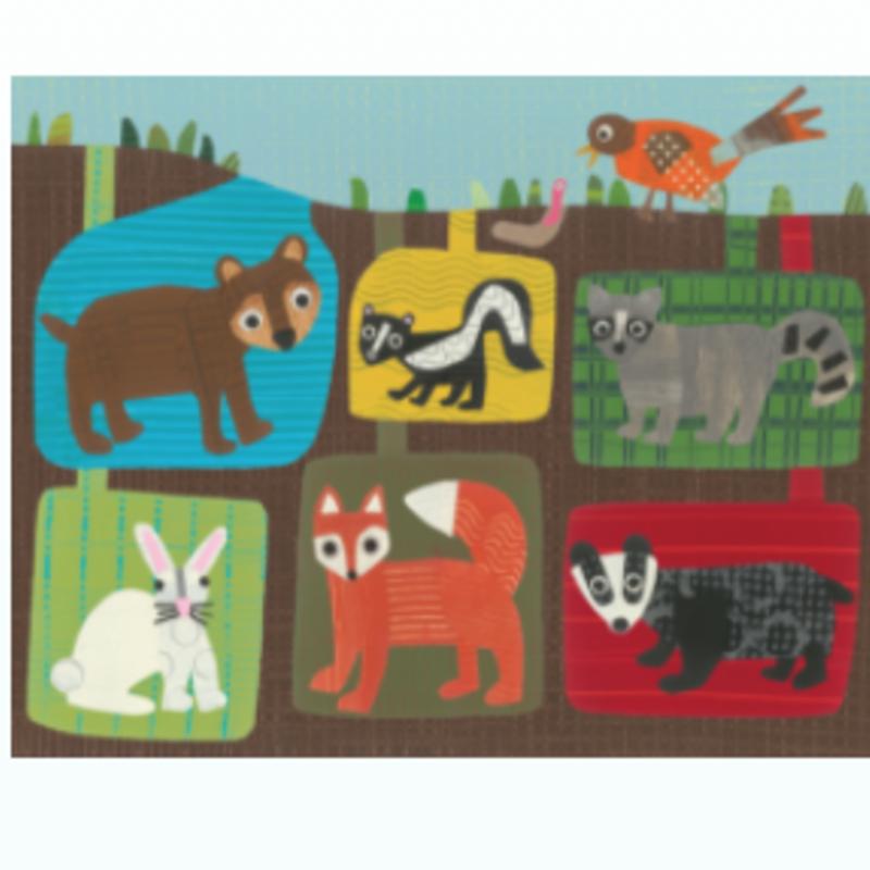 Jeanne Styczinski Woodland Animals Print (11x14)
