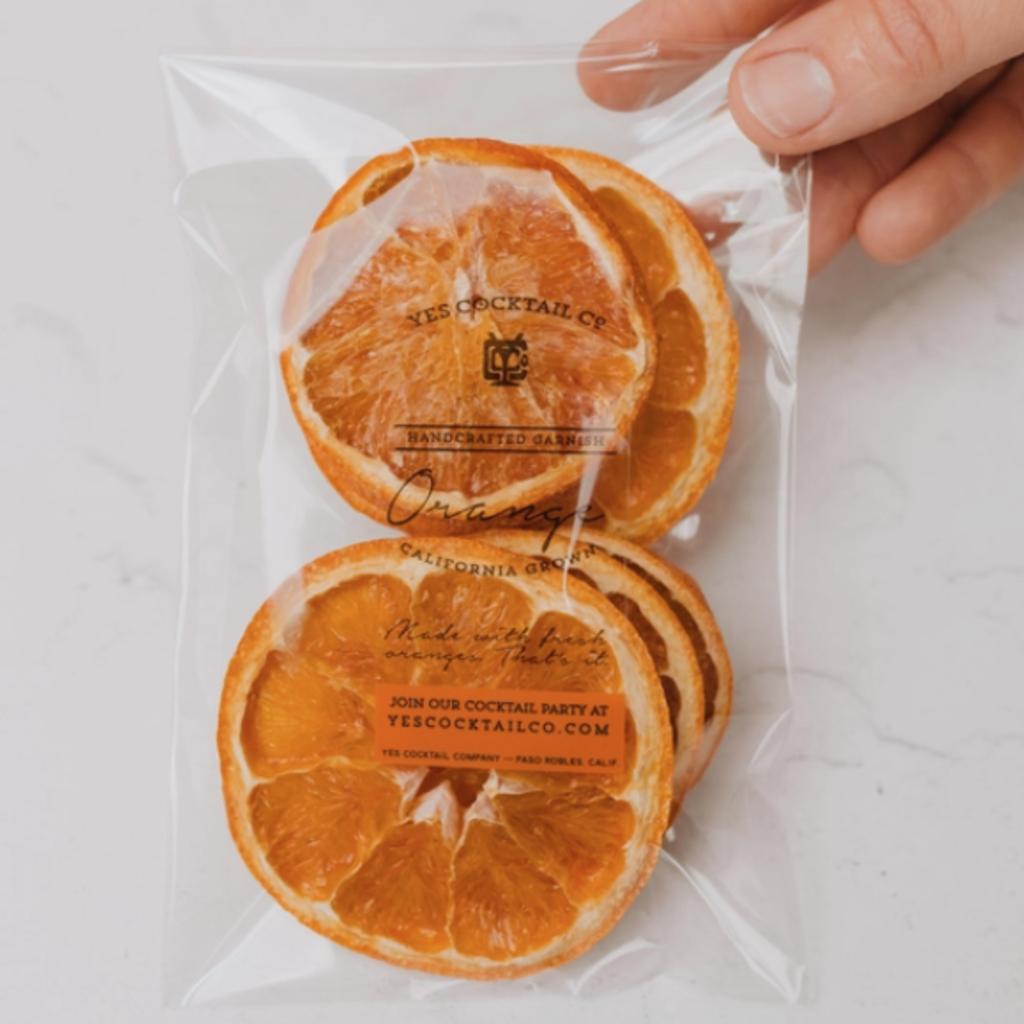 Dehydrated Cocktail Garnishes - Orange