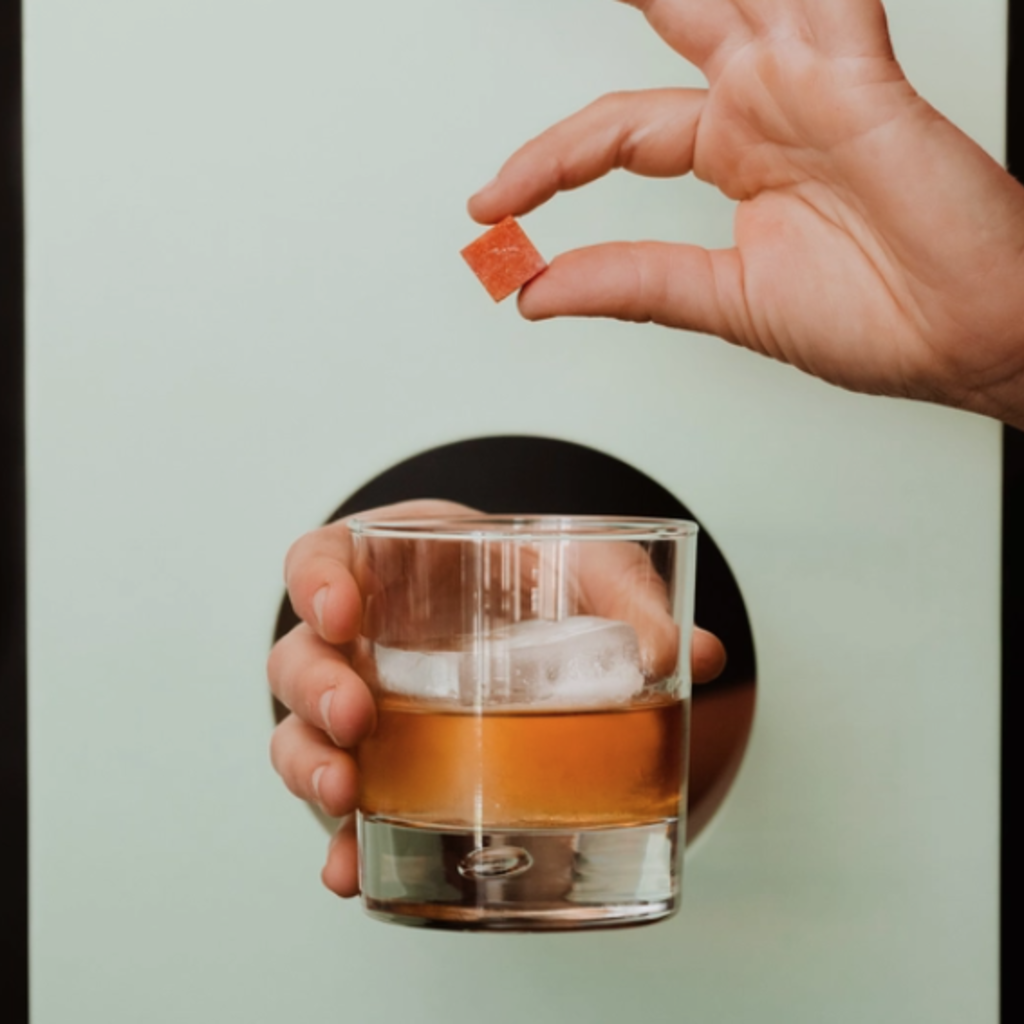 Smoked Old Fashioned Cocktail Cubes