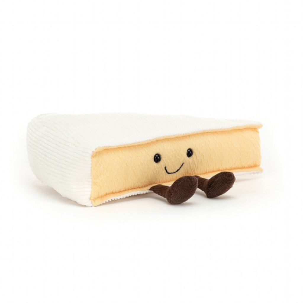 Jelly Cat Plush Brie Cheese