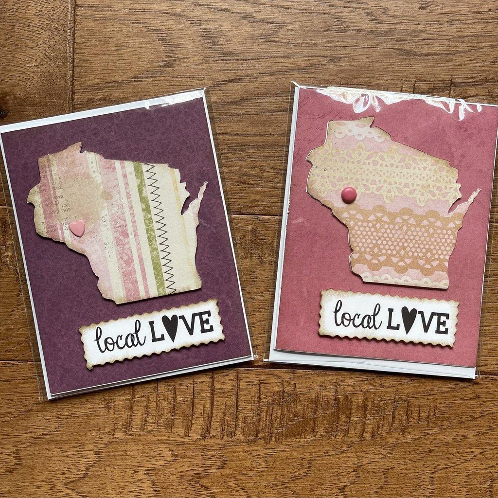 Gazelle Sentiments Wisconsin Greeting Card