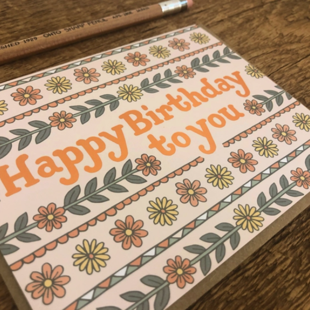 Greeting Card - Birthday to You