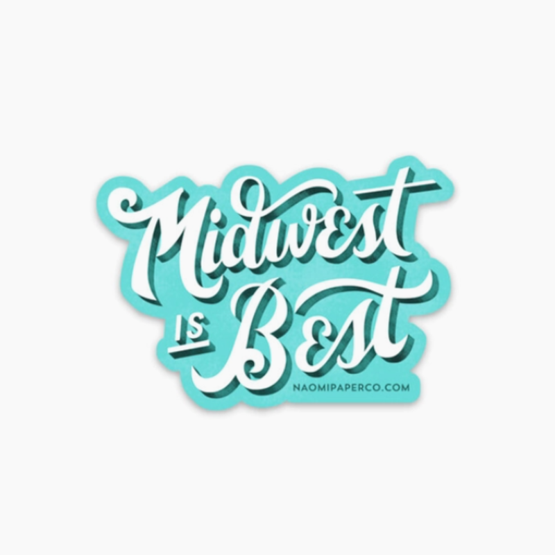 Sticker - Midwest is Best