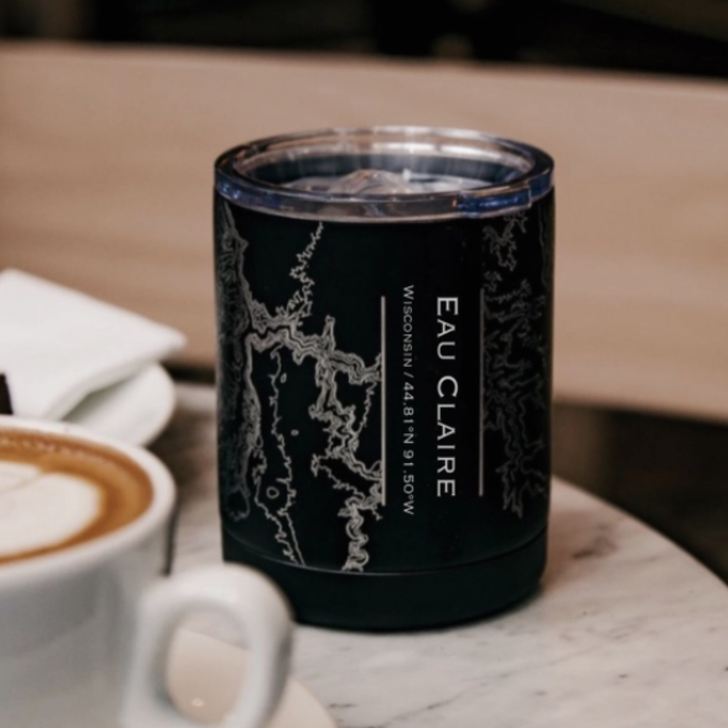 Volume One Eau Claire Map Insulated Cup