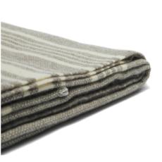 Wool Throw - Weekender Truffle