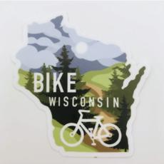 Sticker - Bike WI