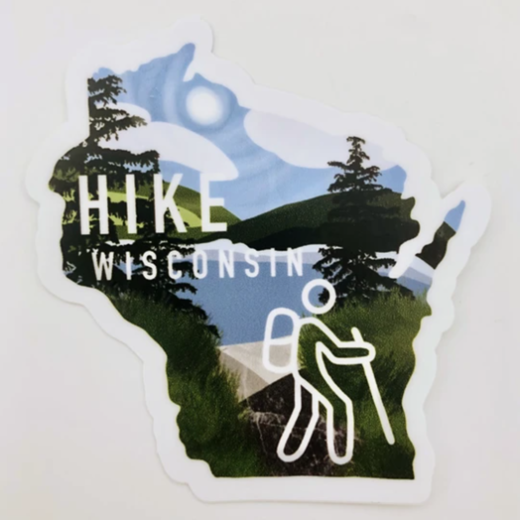 Sticker - Hike WI