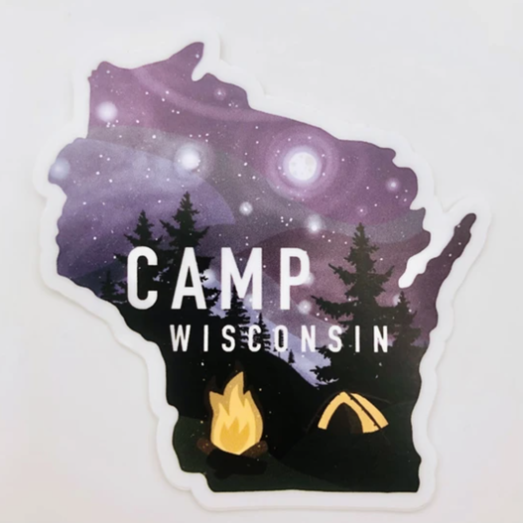 Sticker - Camp WI