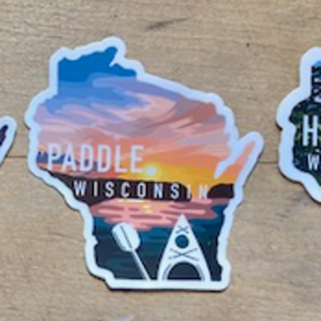 Sticker - Paddle WI
