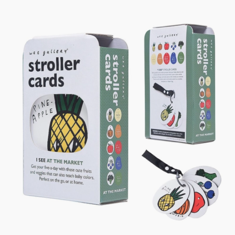 Volume One Stroller Cards - I See at the Market