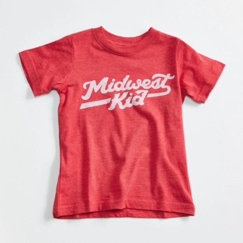 Orchard Street Apparel Midwest Kid Red Toddler T-Shirt